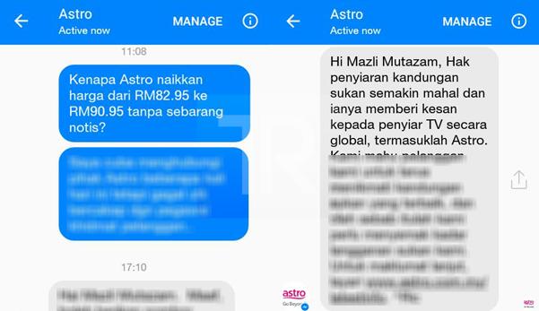 'Selamat Tinggal Astro, Sah Cerai Talak 4 Terus' – Mazli