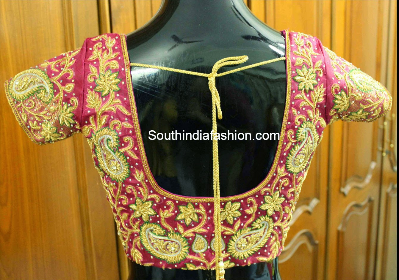 Pattu Saree Blouse Fashion Trends Page 5 Of 6 South India