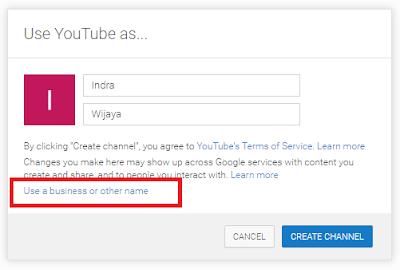 isikan nama channel yang anda inginkan