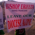 LOL: Women protest against the Bishop of Sapele Anglican Diocese who was accused of embezzlement