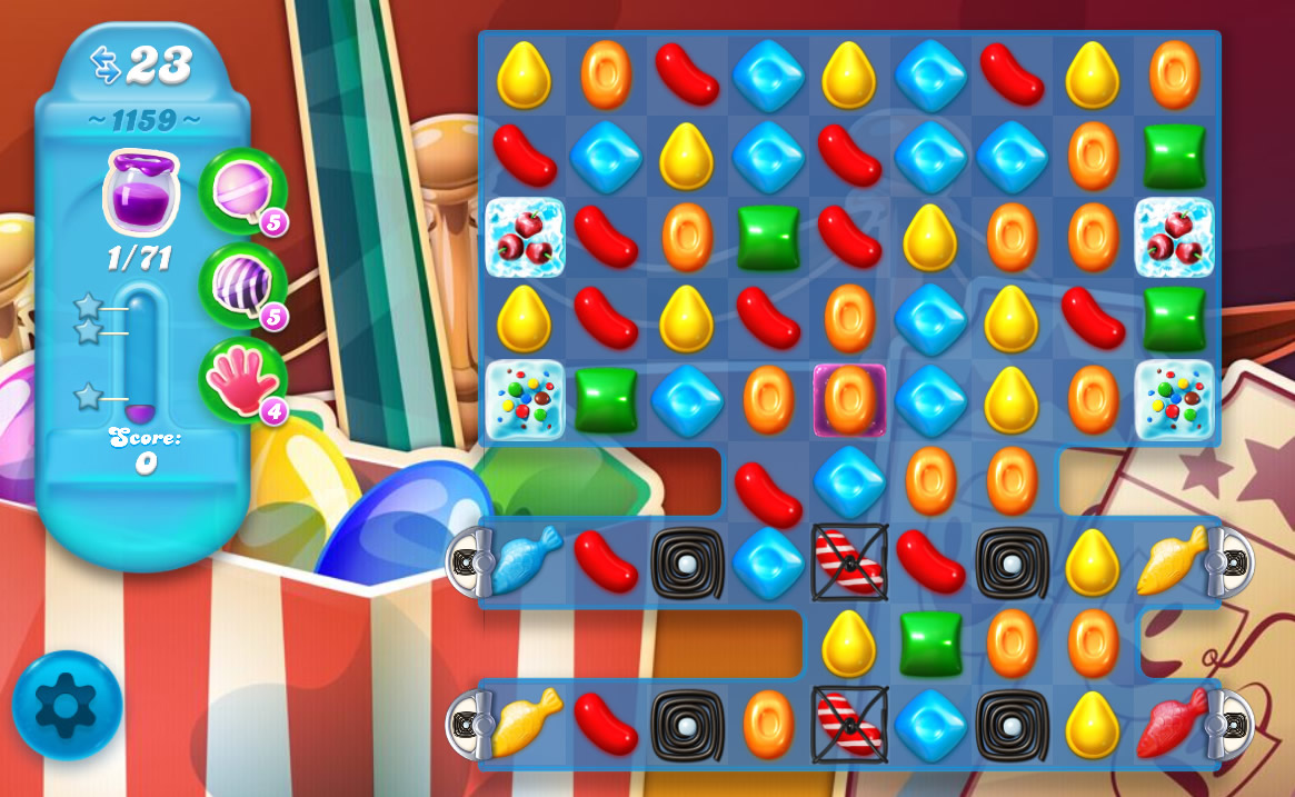 Candy Crush Soda Saga level 1159