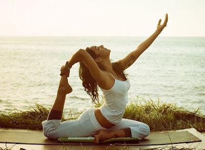 Tập yoga để ngủ ngon giấc