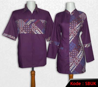 Model Baju Batik Kerja Terbaru