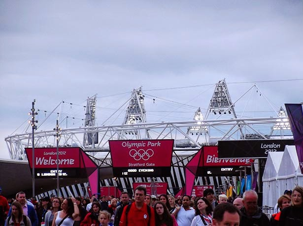Olympic Stadium at the London 2012 Olympic Games