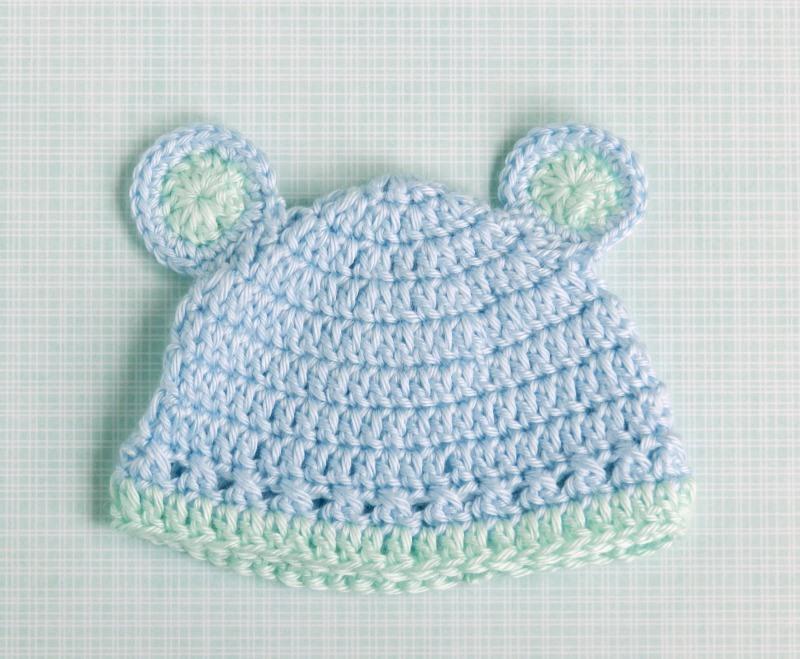 Elise Engh Studios: Crochet Baby Boy Hats