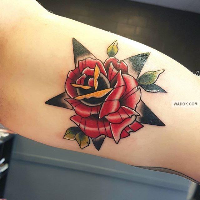 gambar tato bintang terbaik dan paling keren di dunia, gambar tato-tato bintang kaskus