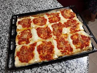 Recette des lasagnes pockets