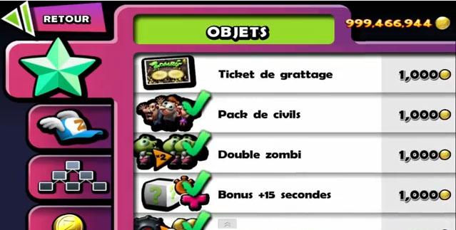 Cheat zombie tsunami terbaru gratis