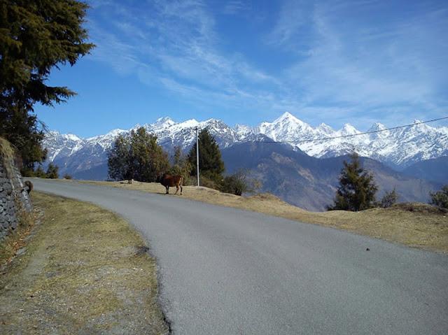 Panchachuli Peaks View