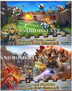 Lords Mobile Mod Apk Data v1.63 Fast Skill Latest Version