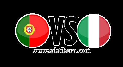 ايطاليا والبرتغال بث مباشر