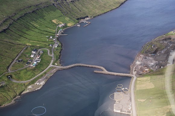 Causeway Kunoy, Faroe Islands