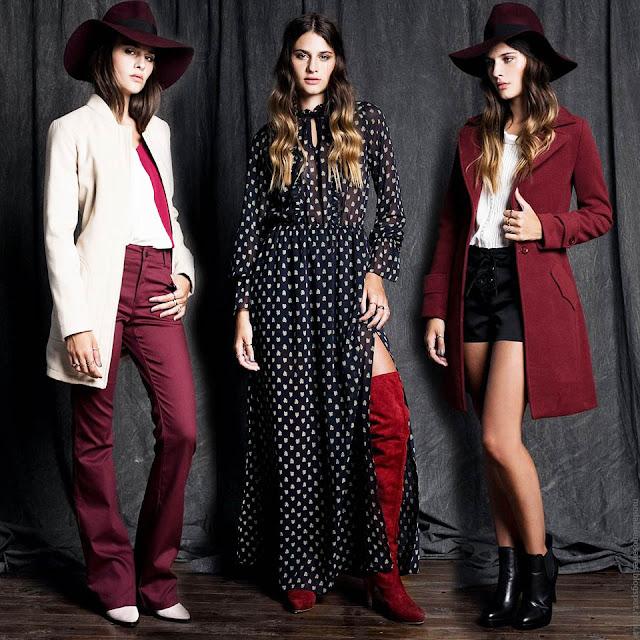 Moda invierno 2016 ropa de moda para mujer Sans Doute. MODA 2016.