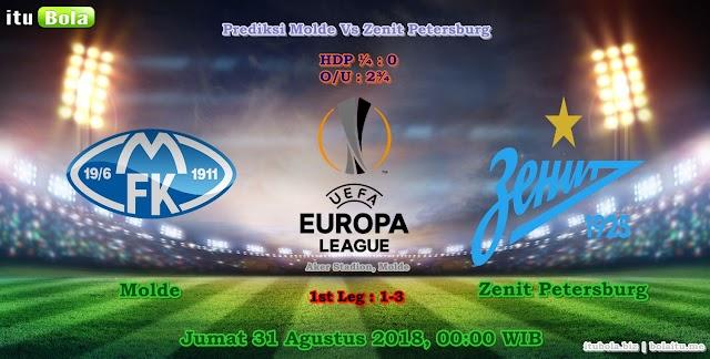 Prediksi Molde Vs Zenit Petersburg - ituBola
