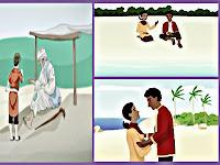 Cerita Rakyat Telaga Air Biru Lengkap Dengan Gambar
