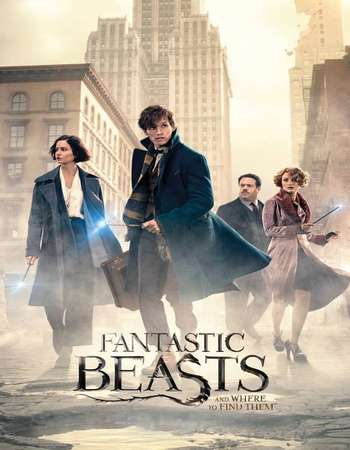 Fantastic Beasts and Where to Find Them 2016 Dual Audio 720p BluRay ORG [Hindi - English] ESubs Free Download Watch Online downloadhub.in