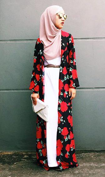 Model Baju Batik Wanita Modis Lengan Panjang Modern