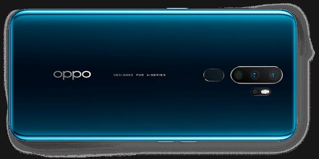 تصميم هاتف أوبو A5 2020