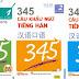 345 câu khẩu ngữ tiếng Hán (bản Trung Việt)