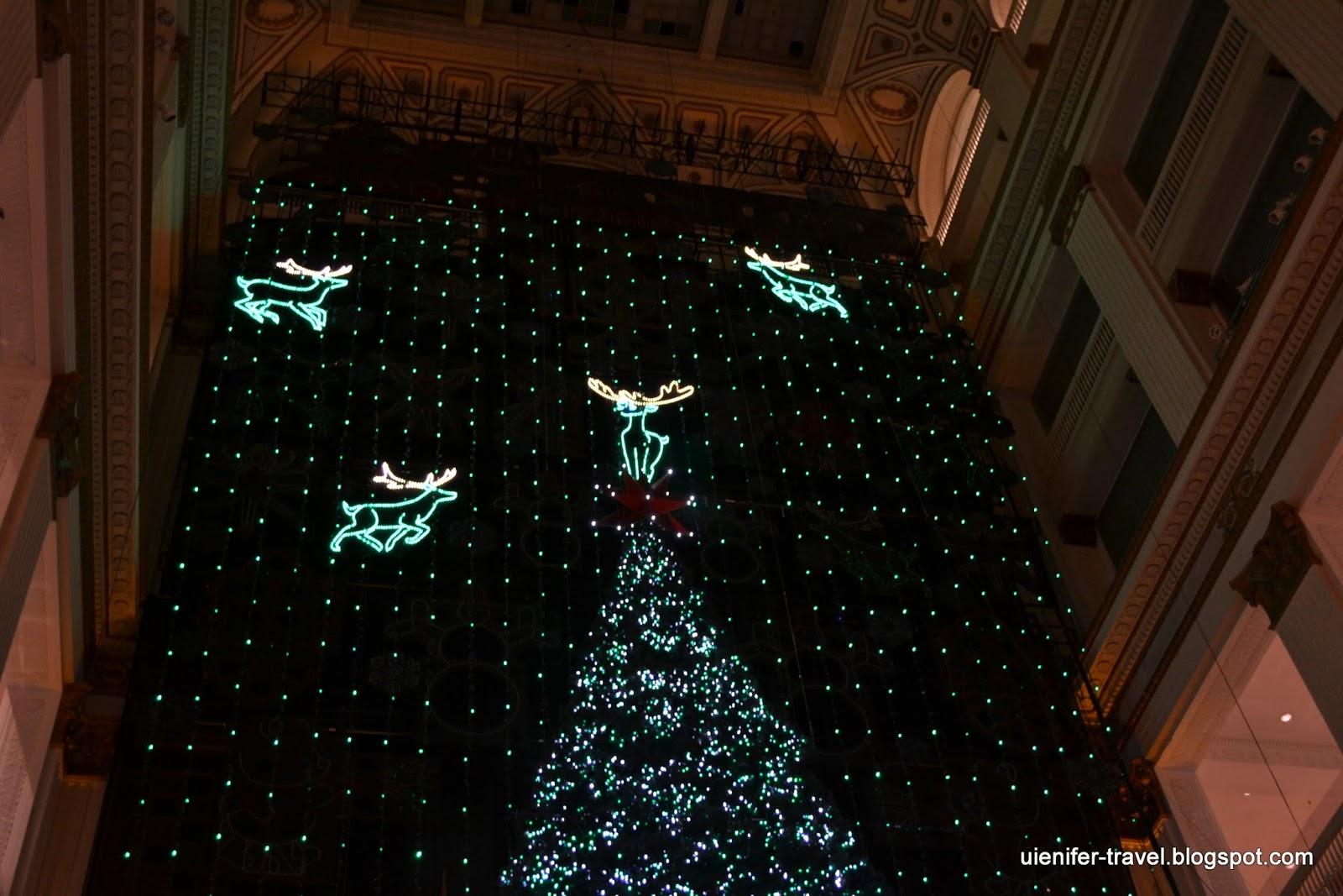 Рождественское шоу в Мейсис, Филадельфия (The Macy's Christmas Light Show at Macy's Center City)