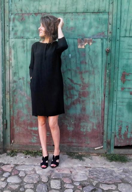 288. łup z SH # 1 black dress