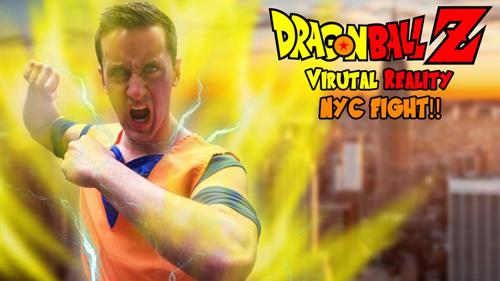 Dragon Ball Z 360 Virtual Reality VR Fight