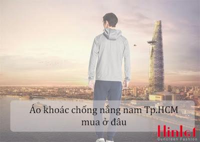 áo khoác chống nắng nam HCM