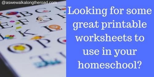 Websites with printable worksheets