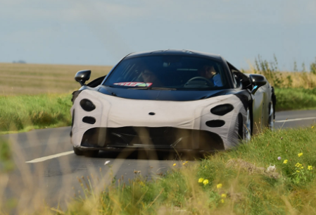 2018 McLaren P14 Design