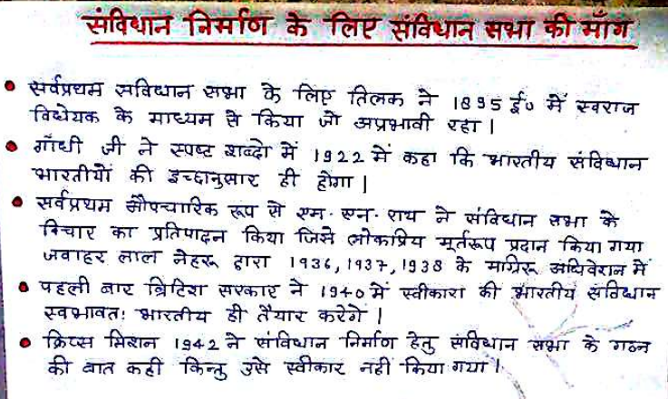 Indian Constitution Ankur Yadav Handwritten Notes PDF Download