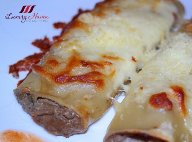 cheesy stuffed cannelloni with fauchon foie gras recipe