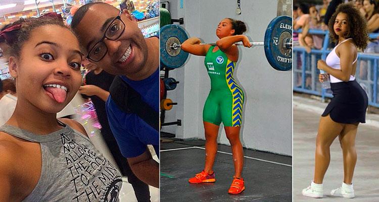 Olívia Soares, filha de Adriana Bombom e Dudu Nobre Foto: Reprodução