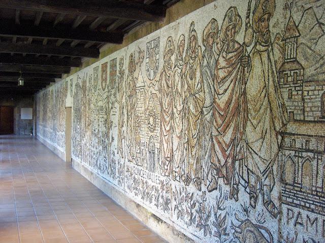 Claustro del Monasterio de Poio