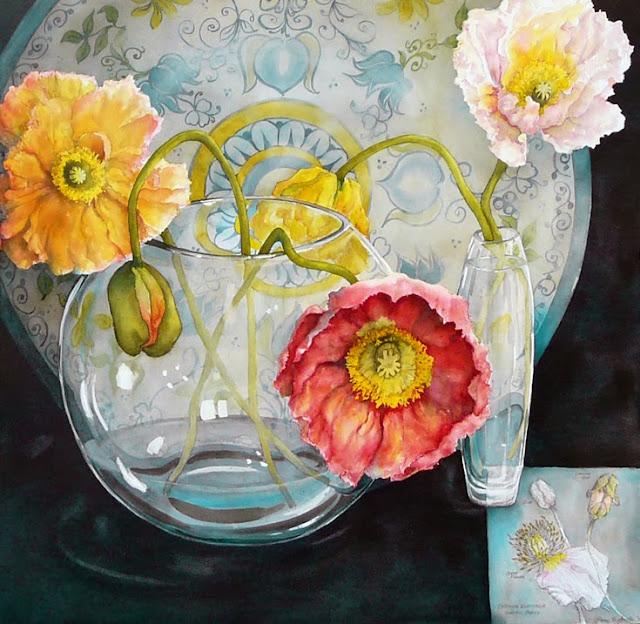 Gorgeous Still Life Art By Pamela Sackville