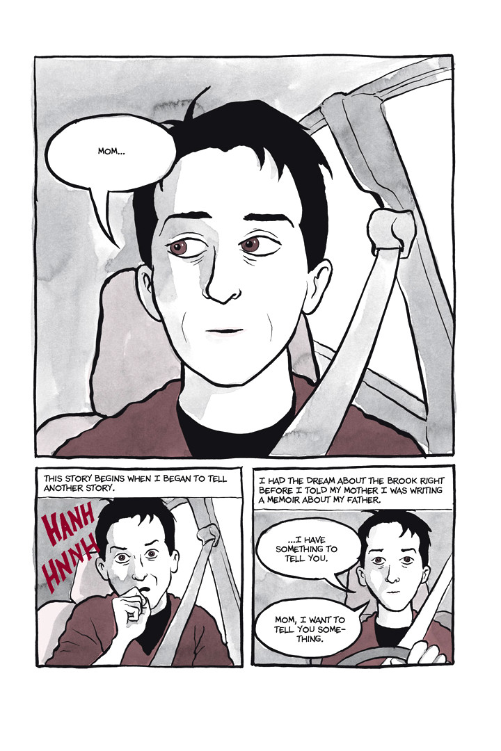 Page 4, Chapter 1: Ordinary Devoted Mother from Alison Bechdel's graphic novel Are You My Mother