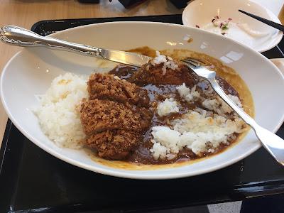 Mi plato de Katsu Kare