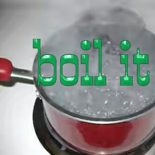boil it for bad breath