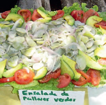 Ensalada de Pallares Verdes con Verduras