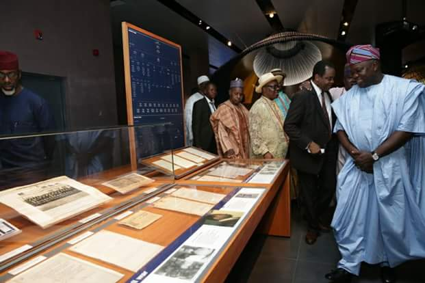 olusegun obasanjo library 42 million books