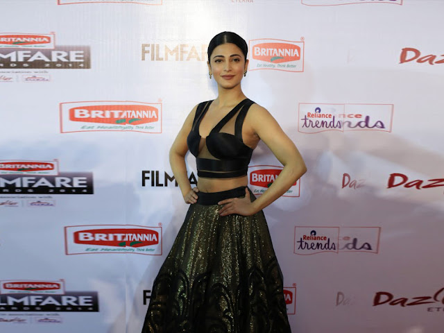 Shruti Haasan Latest Movies Photoshoot Pictures on Gallery
