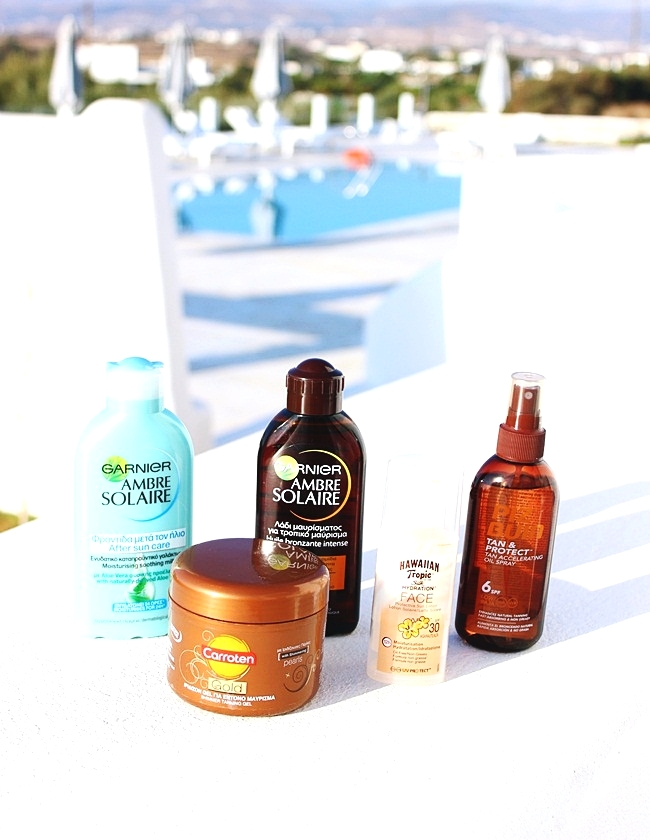best Sunscreen/Tanning Products for dark summer tan