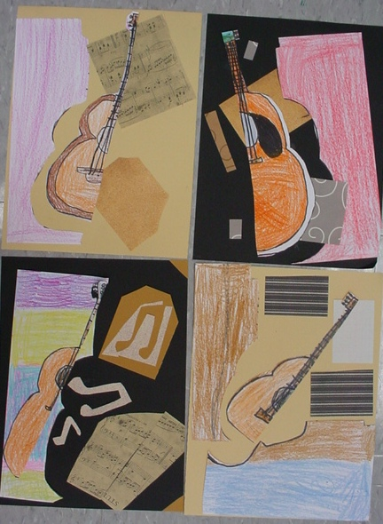 Mrs Knight S Smartest Artists Picasso S Guitar Cubism