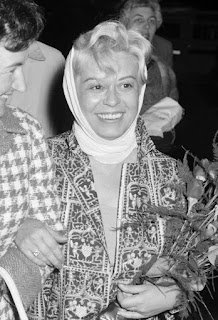 Giulietta Masina in a picture taken in about 1960