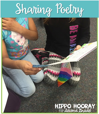 Poems are meant to be read aloud! Give your students the opportunity to share their poems with their friends and loved ones.