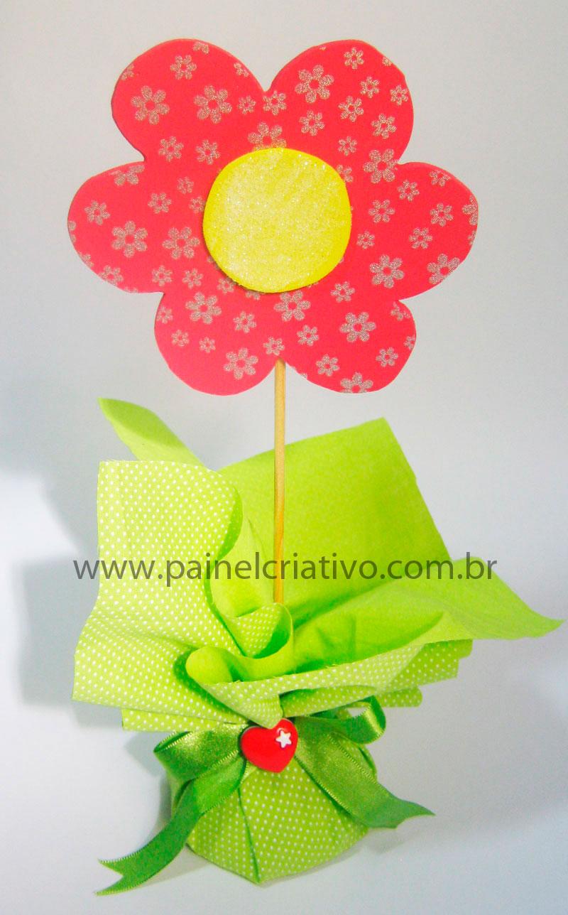 mesa infantil jardim:Centro de mesa para festa Jardim Encantado – Dicas pra Mamãe