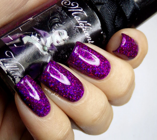 Esmaltes da Kelly Maleficent