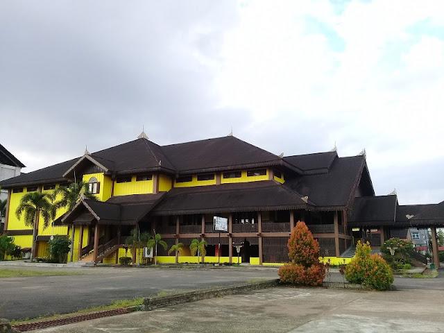 Wisata Rumah Adat Melayu Pontianak, Kalimantan Barat