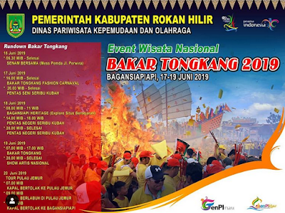 Inilah Jadwal Acara Lengkap Bakar Tongkang di Bagan Siapi-api