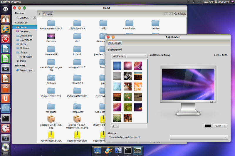 BiSOFT-G3 - A Mac OS X Theme For Gnome Shell And Unity