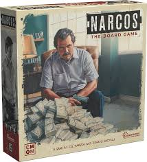 Narcos the board game : boîte de jeu